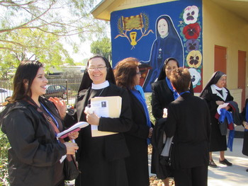 Community celebrates  <br />Mother Julia Jubilee
