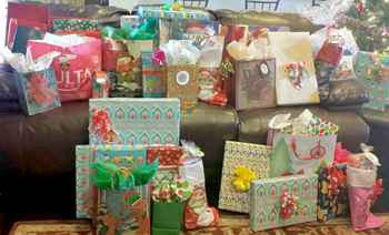Students participate in the season of giving
