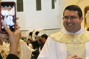 Chapa ordained to the priesthood