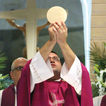 Hometown boy is  <br />ordained a priest