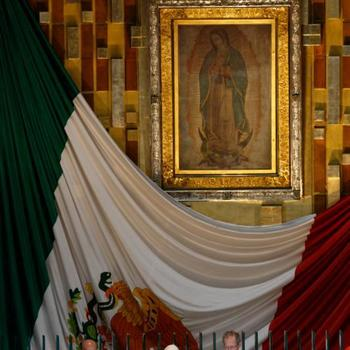 Pope makes long-awaited visit to Our Lady of Guadalupe