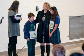 St. Patrick school students participate in Spelling Bee