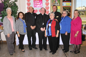 DCCW hosts archdiocesan meeting and leadership training at St. Gertrude's