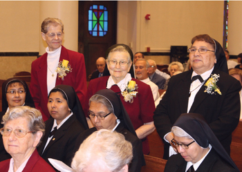 Diocese recognizes men and women in consecrated life