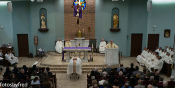 Friends say farewell <div>   to Msgr. Rory Deane </div>