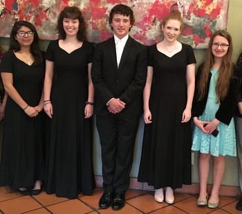IWA soloists score ones  <div>  at state music competition </div>