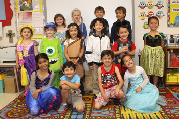 Elementary students celebrate  <br />'Week of the Young Child'