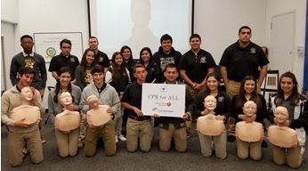 CPR for All project continues at  <br />high school's history classes