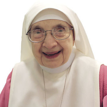 Sister Bertha rejoices in  <br />70 years of cloistered service