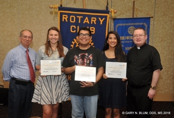 Rotary Club honors top students