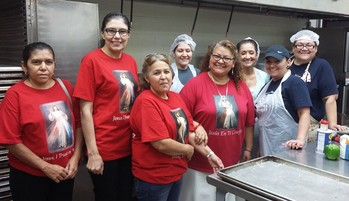 OLPH Ministries feed the Homeless