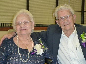 Parishioners fete Logues  <div>  for 70-years of married life  </div>