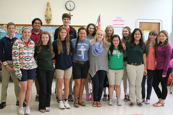 Yearbook students place at South Texas Press Day competition