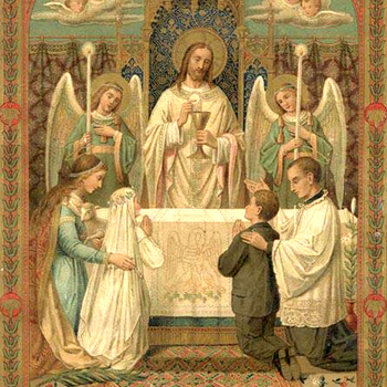 CCD students from St. Anthony receive first Communion