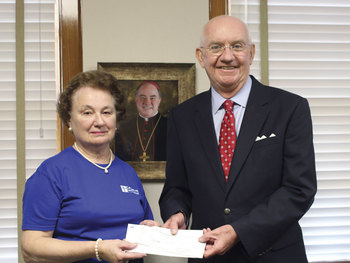 KJZT gives to Diocese of Corpus Christi seminarian education