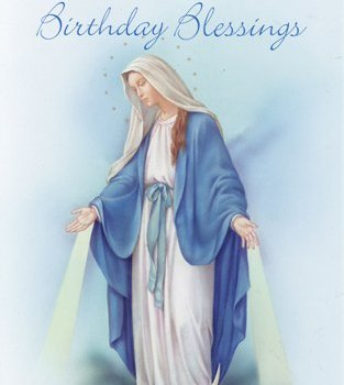 Blessed Mother's Birthday Celebration