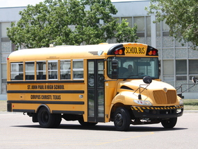New school bus will bring in students from Alice, Robstown