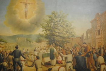 The time Jesus appeared in the sky of Mexico on July 22, 1847