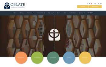 Oblate School of Theology unveils new website