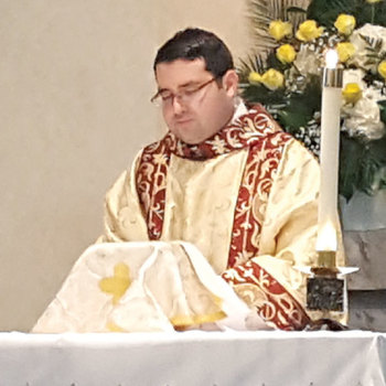 Seminarian Eric Chapa ordained to the transitional diaconate at St. Peter's