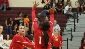 Lady Angels' varsity volleyball team off to a great start