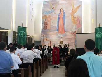 New Extraordinary Ministers of Holy Communion installed