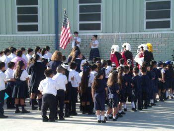 St. Anthony School remembers 9-11 and grandparents