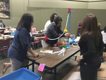 Early childhood educators participate in second  <br />STREAM seminar