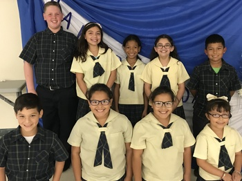 Holy Family School establishes Honor Society