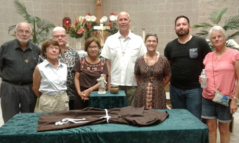 Secular Franciscans celebrate saint's Feast Day