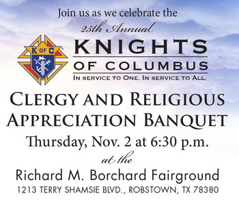 25th Annual Clergy and Religious Appreciation Banquet
