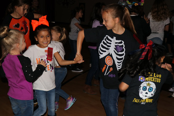 Students cap off Red Ribbon Week with Monster Mash Dance