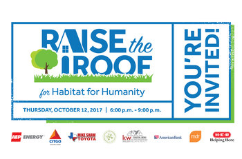 Raise the Roof for Corpus Christi's Habitat for Humanity