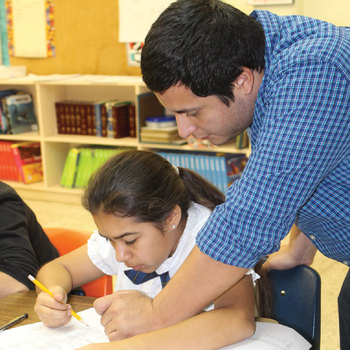Notre Dame students teach and learn in schools