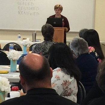 Administrative assistants gather for day of prayer