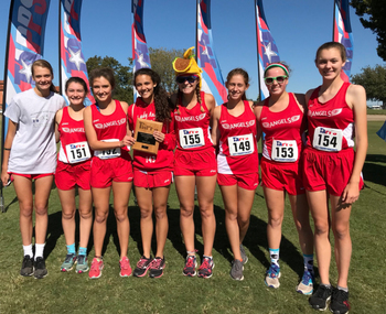 IWA Cross country teams place at TAPPS Meet
