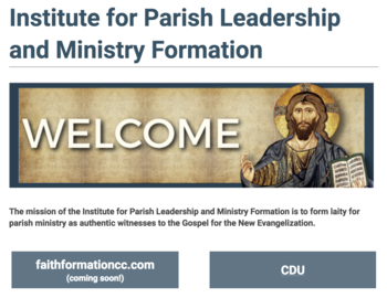 Diocese unveils new institute for formation
