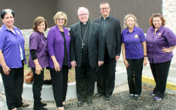 Catholic Daughters, Knights join bishop at prison Christmas Mass
