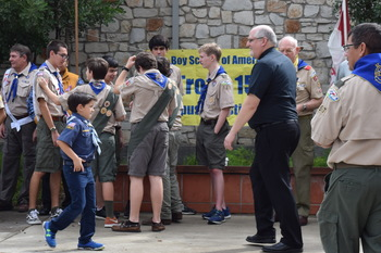 St. Pius Boy Scout Troop celebrates 50 years