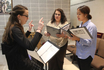 New Schola choir adds to Mass in the Extraordinary Form
