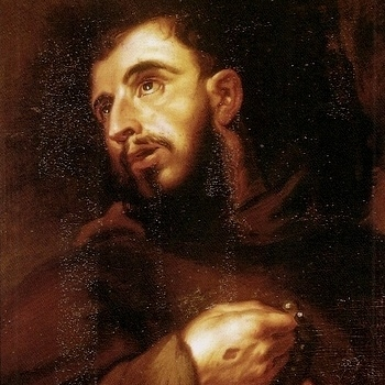 Live presentation of St. Francis coming to St. Peter, Prince of the Apostles on April 2