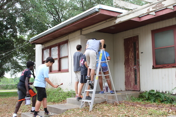 IWA Mission Team committed to serving others