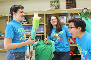 Students' creativity gets them to Destination Imagination competition