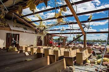 Catholics call survival 'miraculous' after tornado hits church in Diocese of Tyler