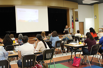Teachers workshop centers on differentiated learning