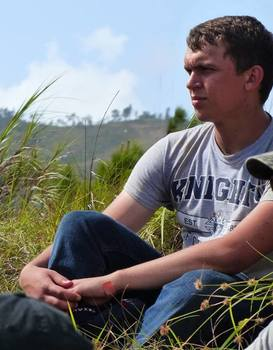 Isaac Kimmel does missionary work teaching at Belize school