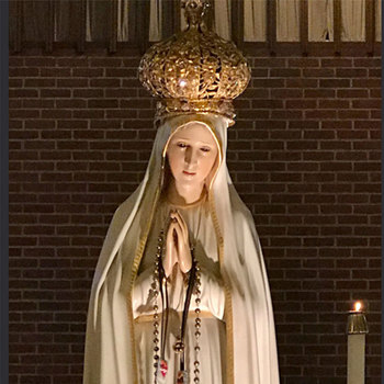 Our Lady of Fatima Pilgrim Statue visits diocese