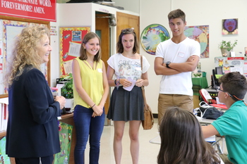 IWA welcomes French students to Corpus Christi