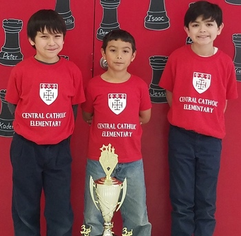Central Catholic places third in Chess Tournament