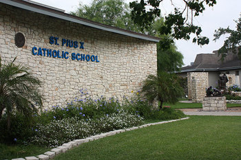 St. Pius X School Open House for prospective parents